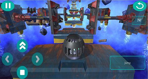 Arcade-Spiele Space ball für das Smartphone