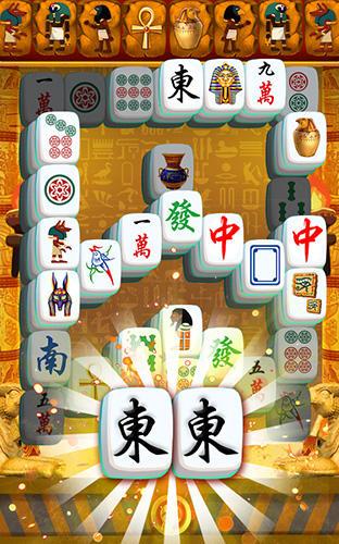 Brettspiele Mahjong Egypt journey für das Smartphone