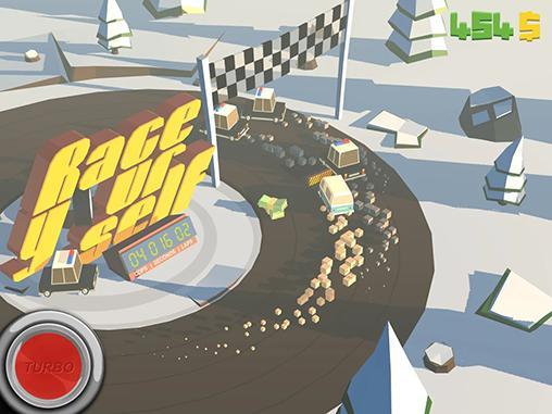 Rennspiele Race yourself für das Smartphone