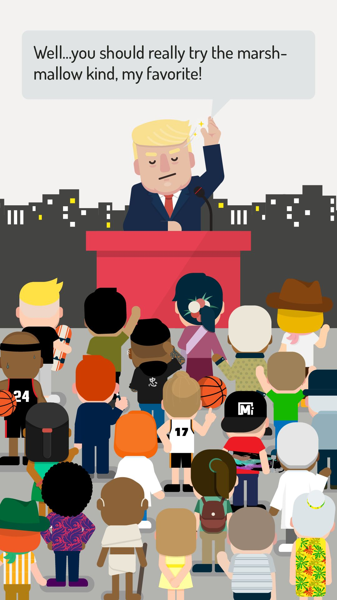 Hey! Mr. President - 2020 Election Simulator pour Android