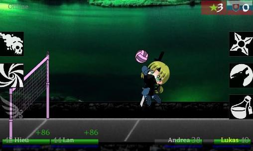 Ninja volley 2 für Android