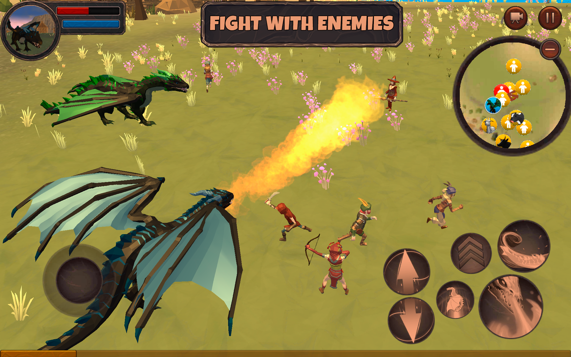Android用 Dragon Simulator 3D: Adventure Game