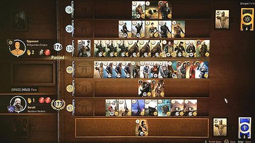 Brettspiele: spiel Gwent: The Witcher сard game für Luxpad