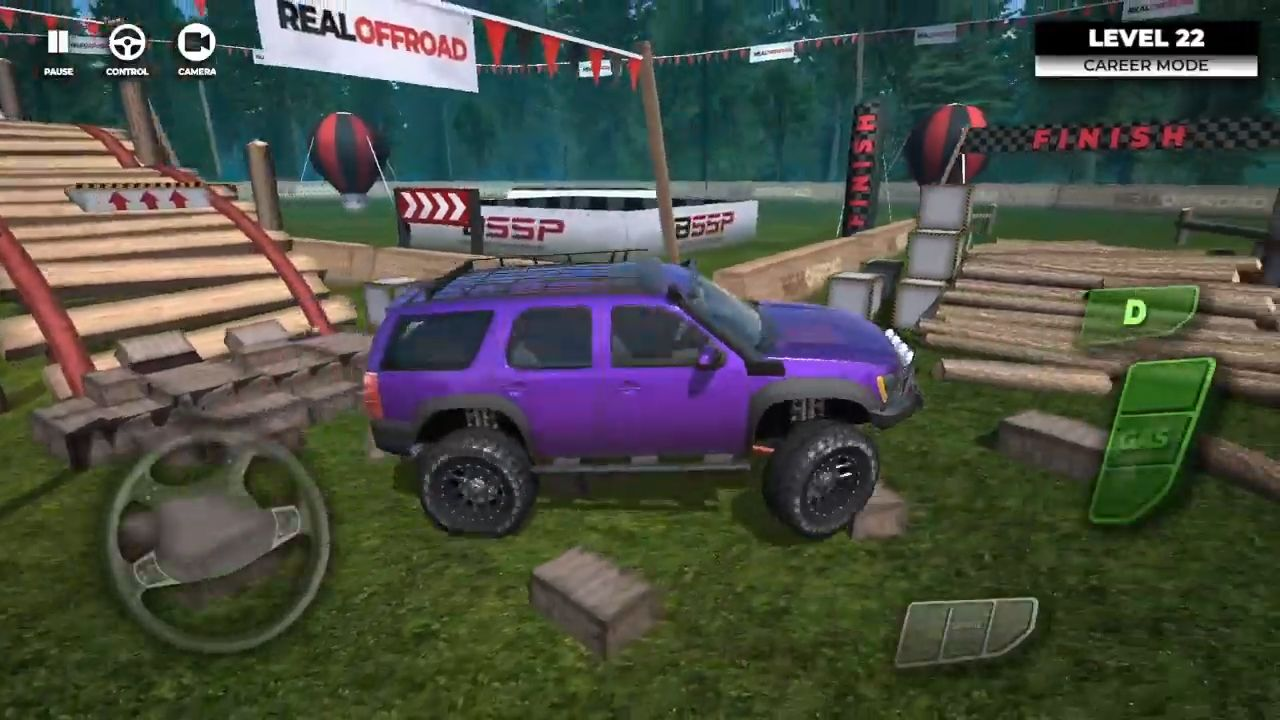 Offroad Fest - 4x4 SUV Simulator Game captura de tela 1