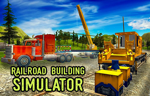 Railroad building simulator: Build railroads! captura de pantalla 1
