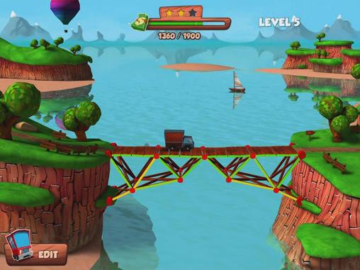 Bridge builder simulator Screenshot