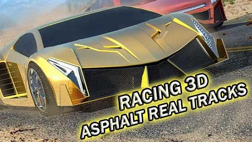 Racing 3D: Asphalt real tracks capture d'écran 1
