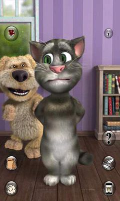 Sprachspiele Talking Tom Cat 2 auf Deutsch