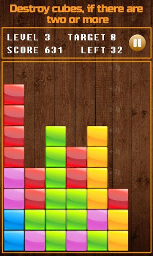 Smash the cubes für Android