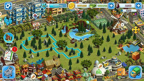 Eco ciudad para iPhone