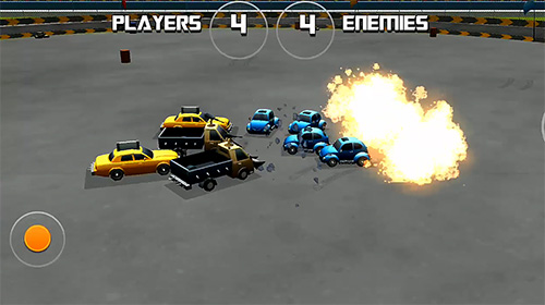 Rennspiele Battle of cars: Fort royale für das Smartphone