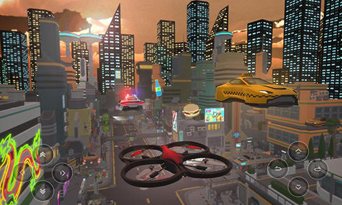 Fly drone simulator extreme für Android