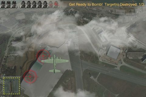 Screenshot Bomber Kapitän auf dem iPhone