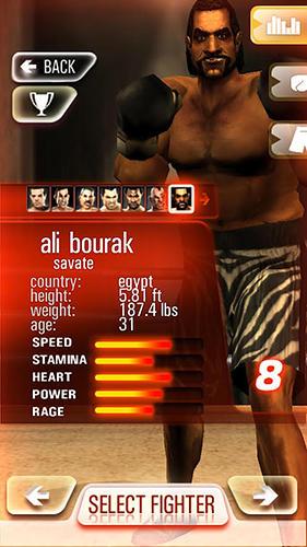 Iron fist boxing lite: The original MMA game captura de pantalla 1