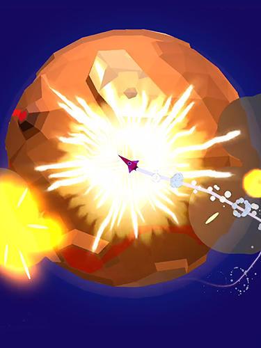 Zeitkiller Rocket dodge für das Smartphone