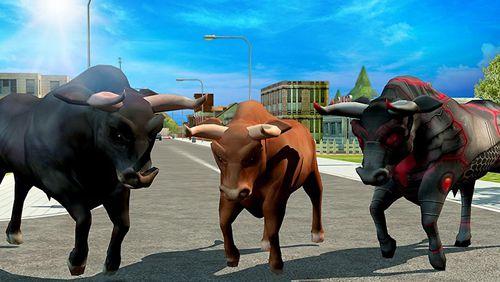 Screenshot Wütender Bulle: Rache 3D auf dem iPhone