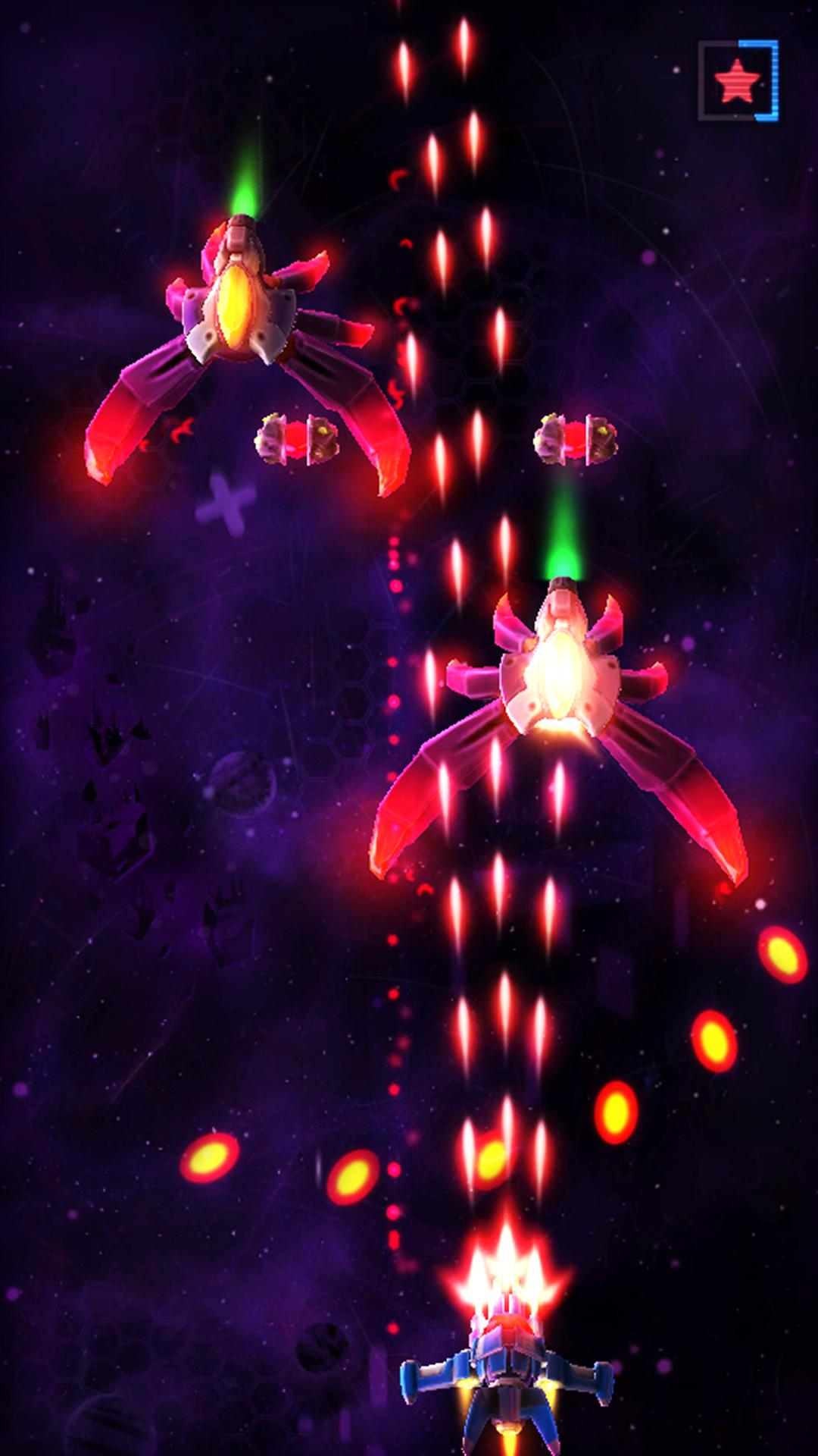 Neonverse Invaders Shoot 'Em Up: Galaxy Shooter für Android