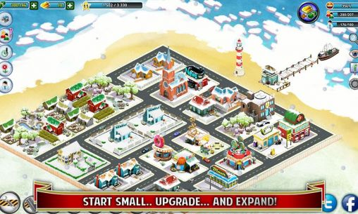 City island: Winter für Android