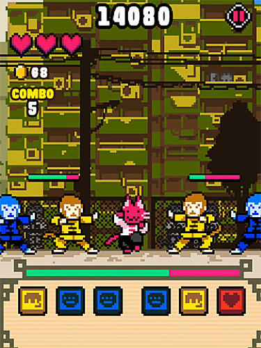 Скриншот Кошка кунг-фу на андроид