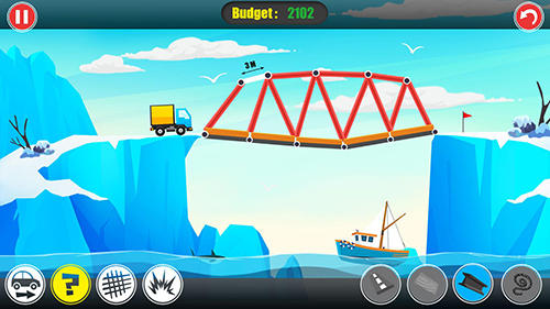 Logik Path of traffic: Bridge building für das Smartphone