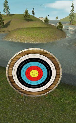 Arcade-Spiele Bowmaster archery: Target range für das Smartphone