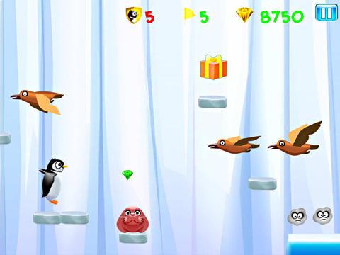 Lauf Kelvin: Die Pinguinflucht auf Deutsch