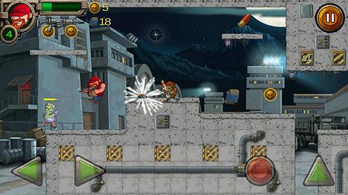 Actionspiele Zombie raid survival 2 für das Smartphone