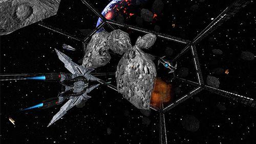 Captura de pantalla Guerrero de la ciudad espacial en iPhone