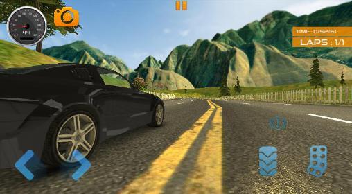 Fast lane car racer Screenshot