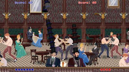 Arcade-Spiele Max gentlemen für das Smartphone