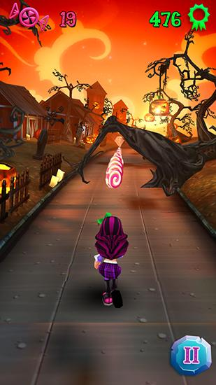 Halloween runner para Android