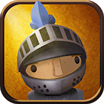 Wind-up knight by Robot invader Symbol