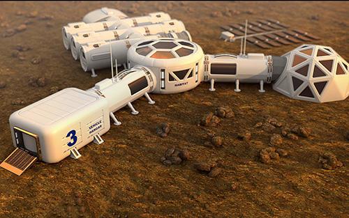de construction Space construction simulator: Mars colony survival en français