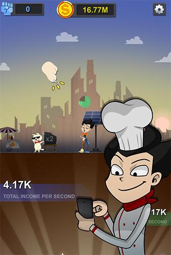 Arcade Illuminati adventure: Idle game and clicker game for smartphone
