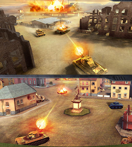 War machines: Tank shooter game Screenshot