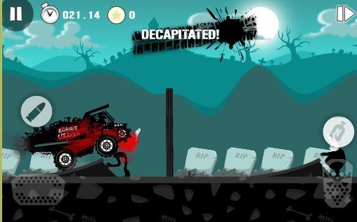 Arcade-Spiele Zombie race: Undead smasher für das Smartphone