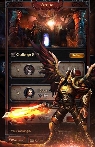 RPG Sniper hell: King of dark. Survival für das Smartphone