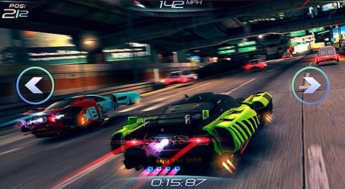 Rival gears racing captura de pantalla 1