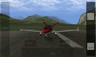 X-Plane 9 3D captura de tela 1