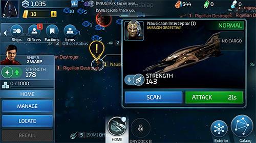 Star trek: Fleet command captura de tela 1