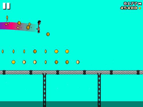 Screenshot 8-Bit Wasserrutsche auf dem iPhone
