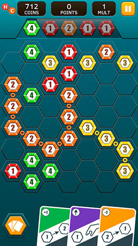 Hex chains in English