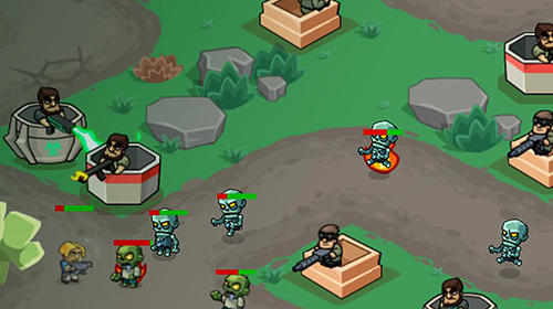 Zombie world: Tower defense für Android