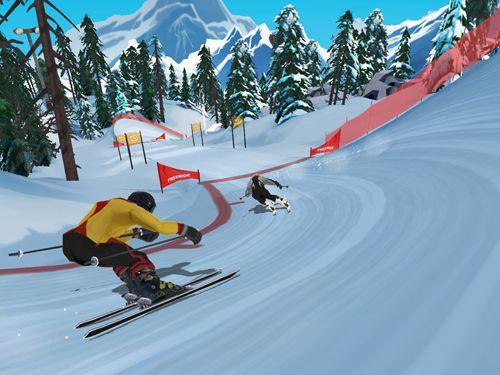 FRS ski cross: Racing challenge