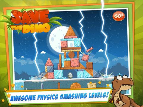 Screenshot Rette den Dino auf dem iPhone