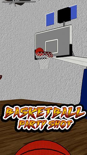 Basketball party shot: Multiplayer sports arcade Screenshot