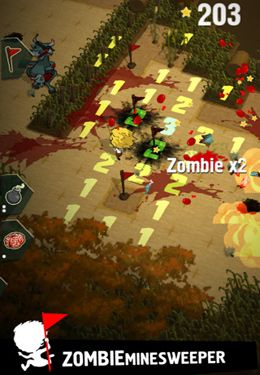 Arcade: download Zombie Minesweeper to your phone