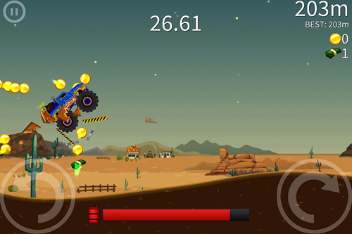 Screenshot Extreme road trip 2 on iPhone