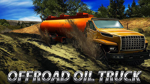 Oil truck offroad driving Screenshot