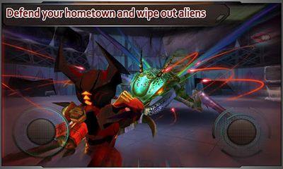 Multiplayer Star Warfare: Alien Invasion für das Smartphone